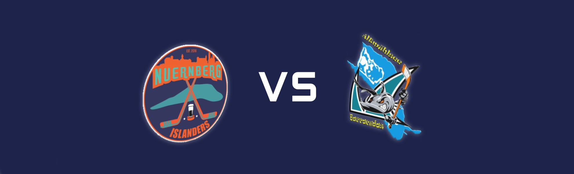 Spieltag - Nürnberg Islanders vs Altmühlsee Barracudas